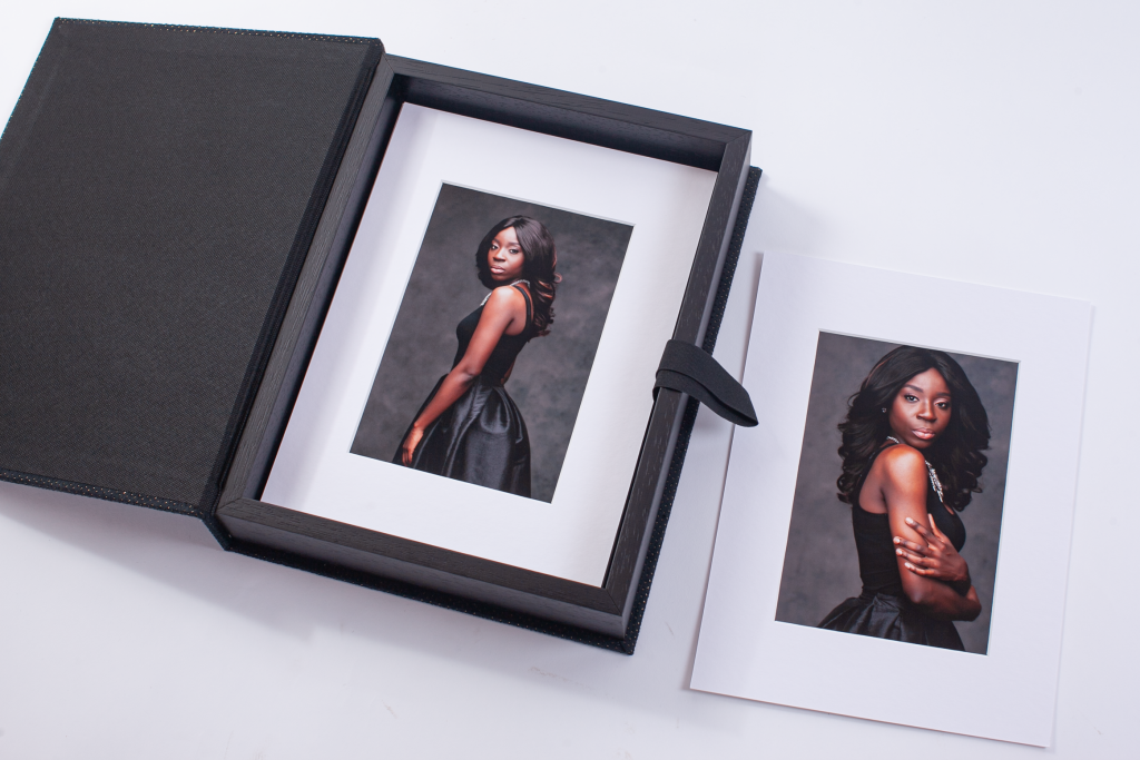 boudoir pricing, folio box