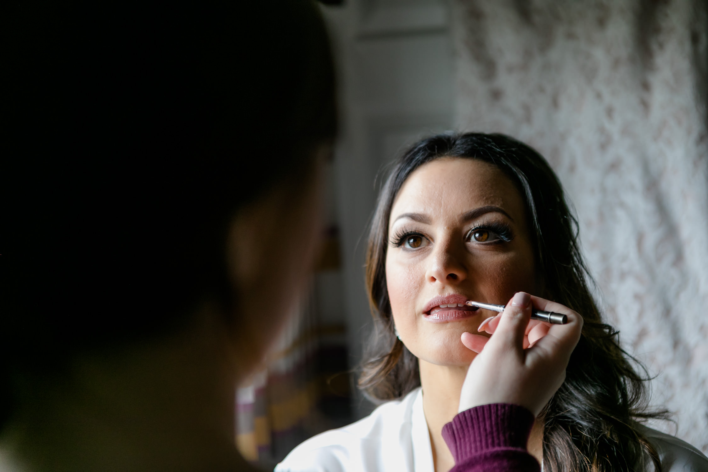 bride getting ready - planning for the right amount of time
