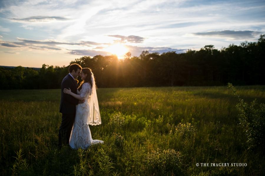 harrington farm sunset wedding photos