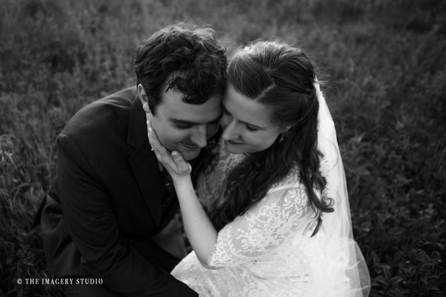 bride and groom portraits at Harrington farm weddings