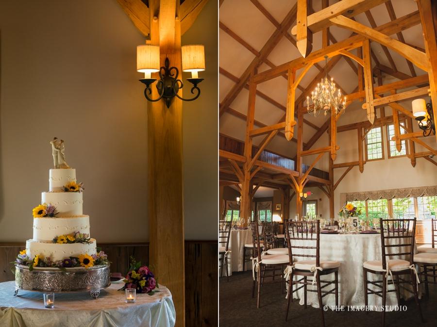 harrington farm wedding decor, cake by enchanted wedding cakes