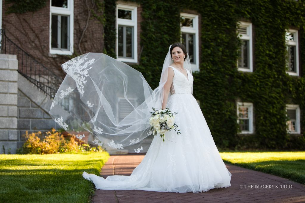 Weddings Holy Cross College bridal portraits