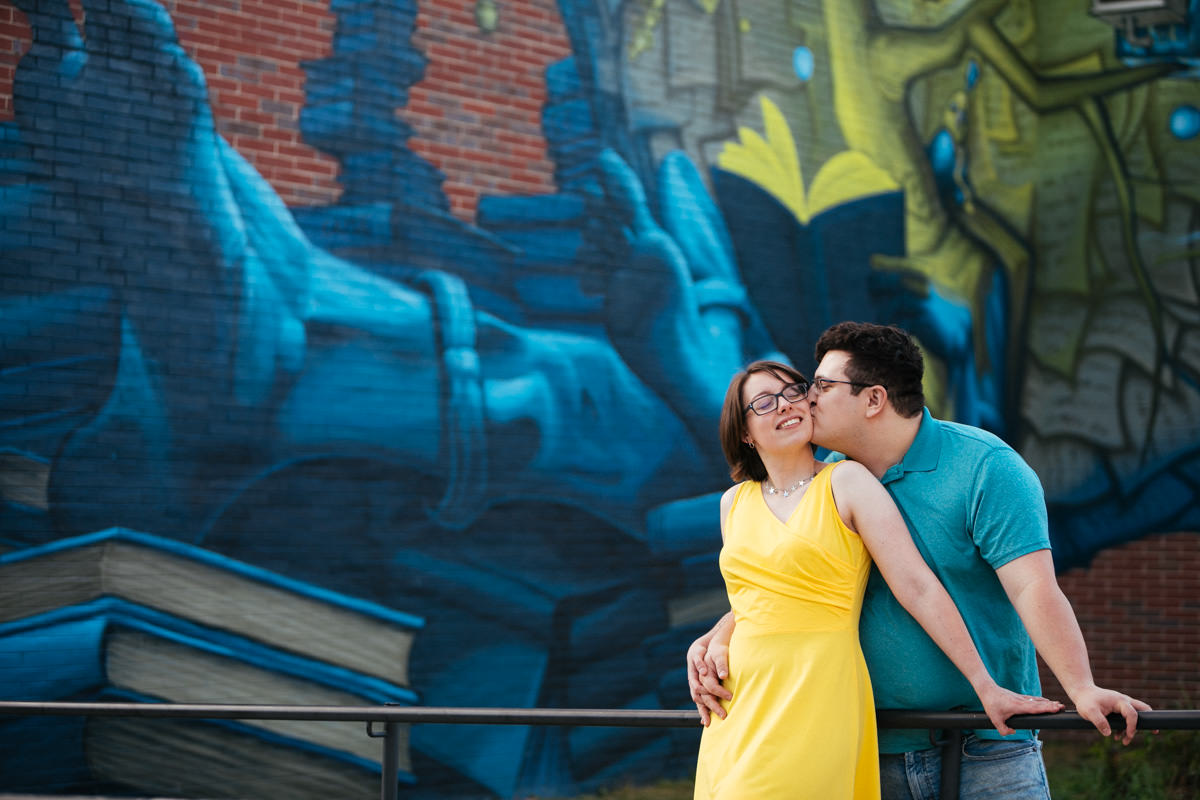 Fun Engagement Session in Worcester MA
