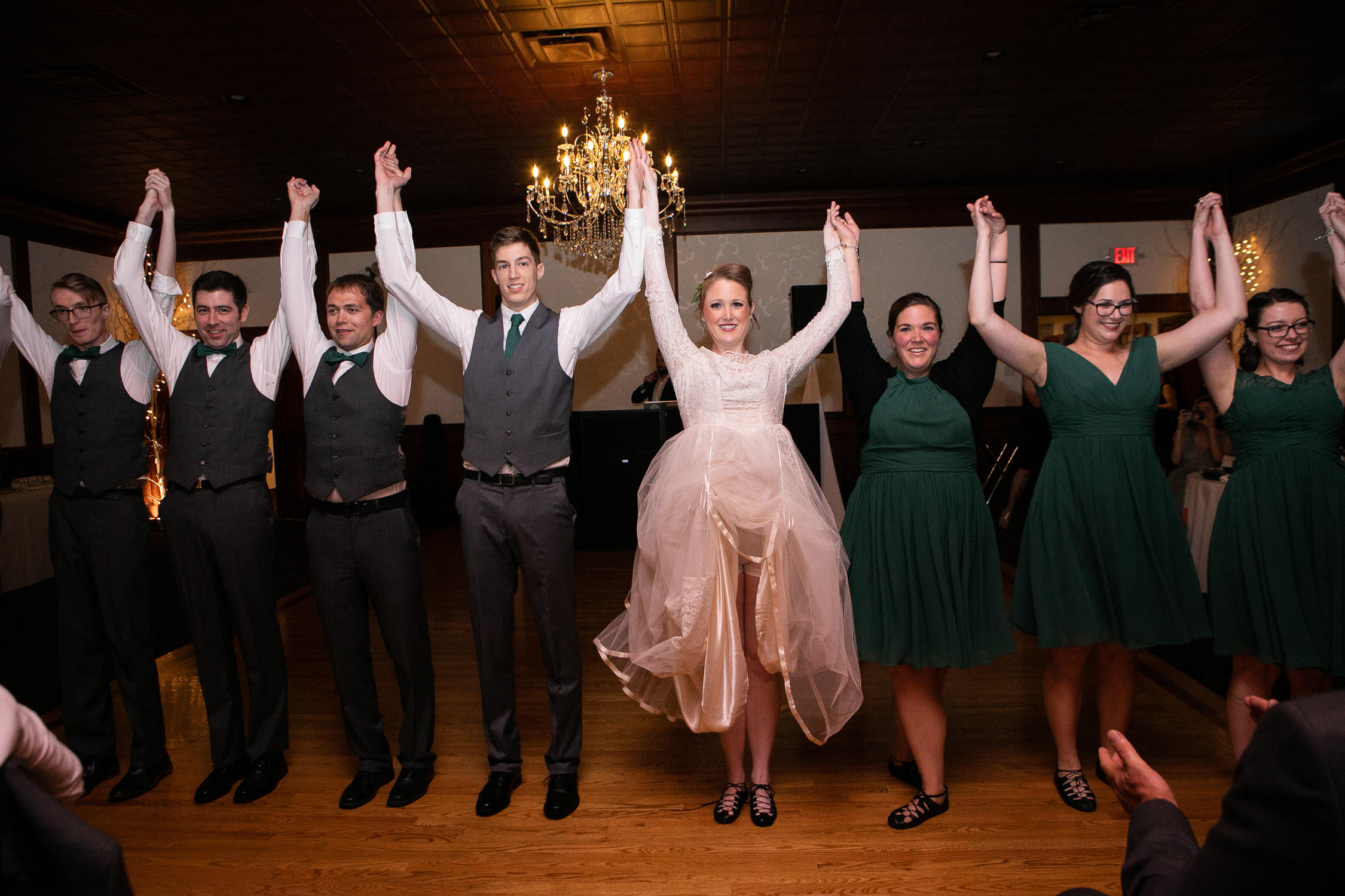 Apple Hill Farm wedding, Irish dance
