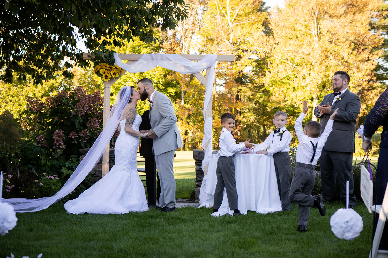 Cyprian Keyes wedding ceremony
