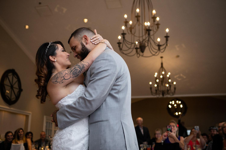 First dance at Cyprian Keyes wedding