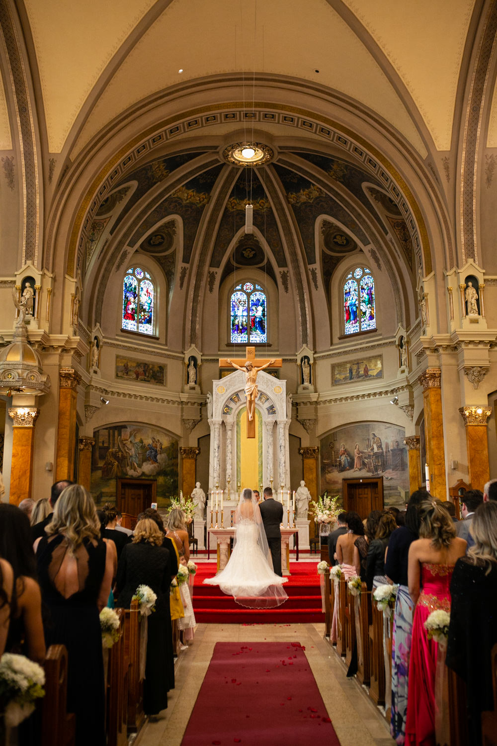 Worcester wedding photographer - Holy Family Parish at St. Joseph's Church